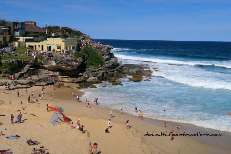 Strand Tamarama Beach Sydney