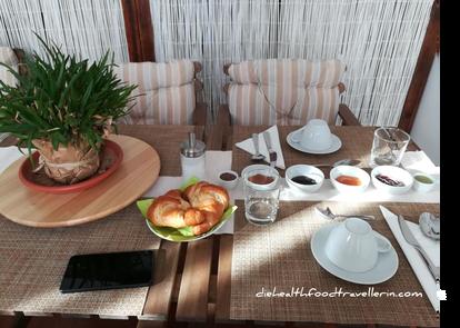 BB Gallidoro Fruehstuecks Tisch