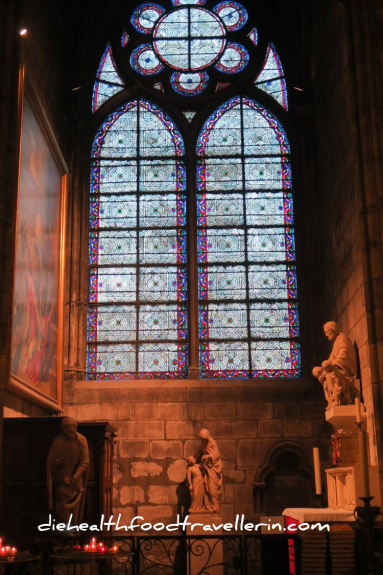 Notre Dame Kapelle innen Fenster 2