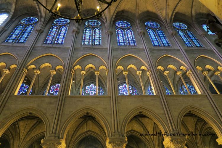 Notre Dame Kapelle Innen Fenster