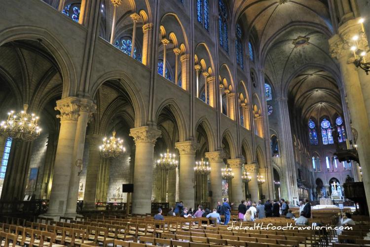 Notre Dame Kapelle von Innen