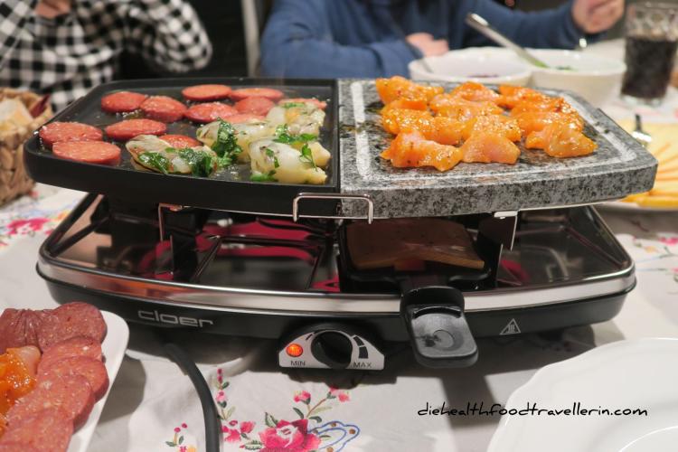 Raclette Grill Platte DEU