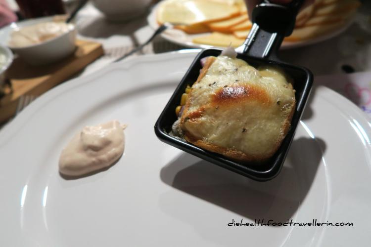Raclette PFanne Fertig