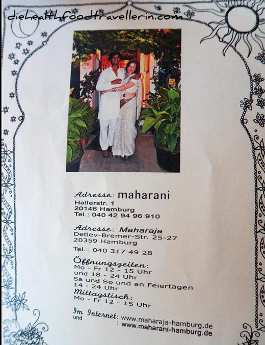Maharani adresse