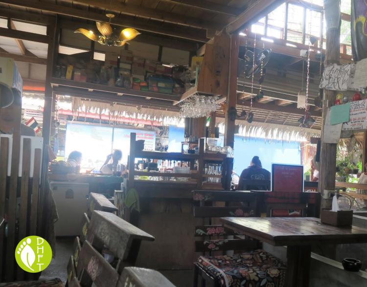 Cafe del Sunshine Lonely Beach Innenaustattung 3