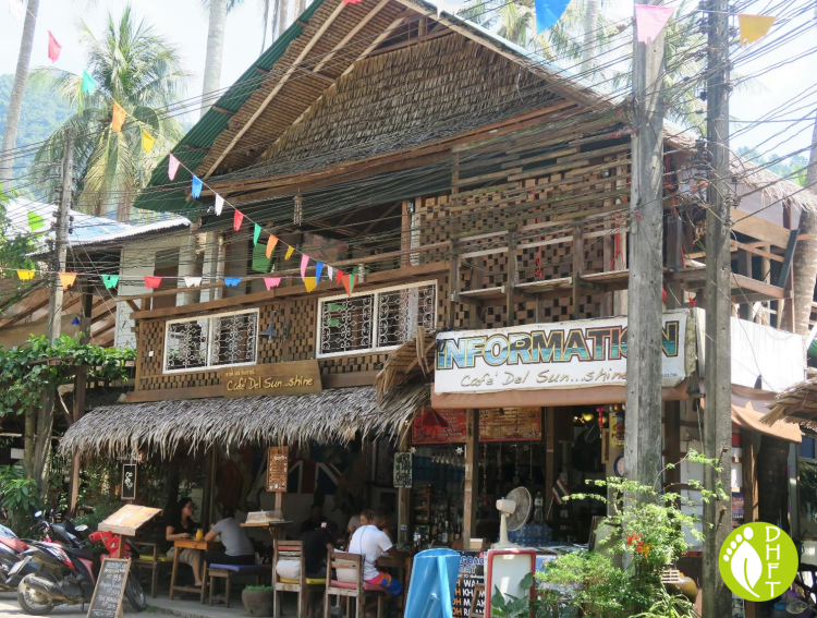 Koh Chang Lonely Beach Cafe del Sunshine DEU