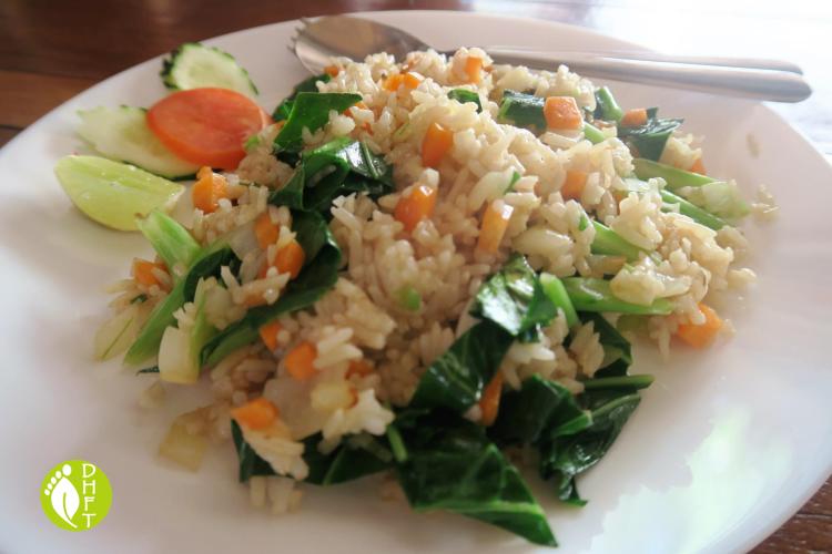 Thai gebratener Reis Vegan