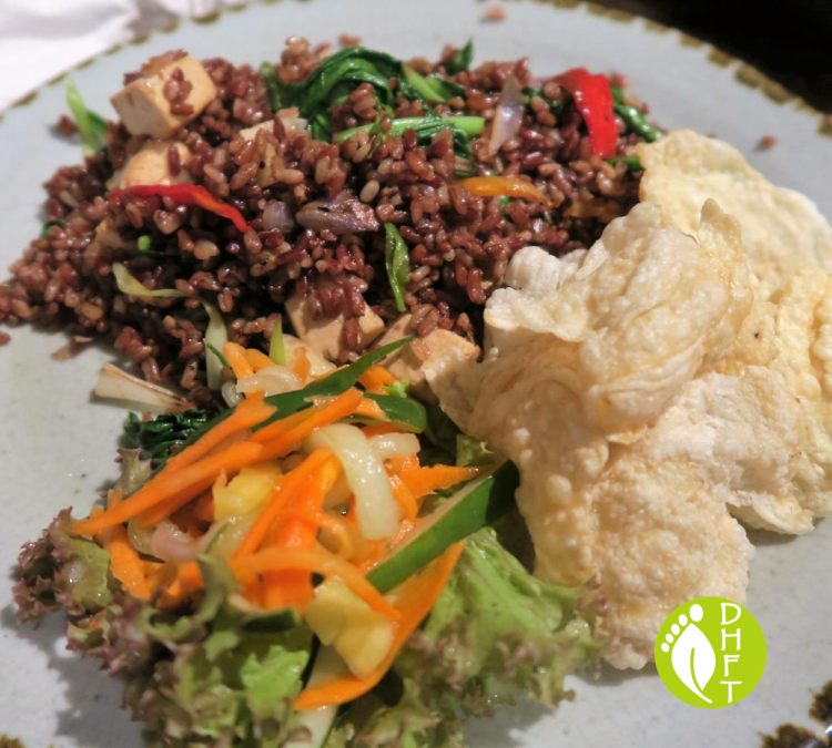 KAFE Ubud Bali Nasi Goreng Vegan mit Tofu