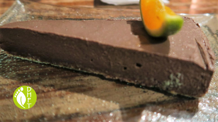 KAFE Ubud Bali Rohkost Schokoladen Kuchen